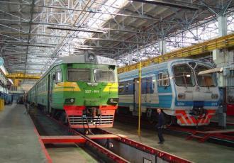 Моторвагонное депо на станции Данилов