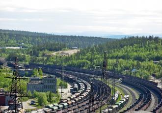 Железнодорожная линия Пинозеро — Ковдор