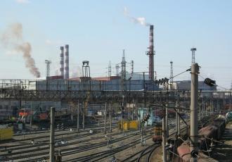Реконструкция мостовых переходов на железнодорожных путях Череповецкого металлургического комбината