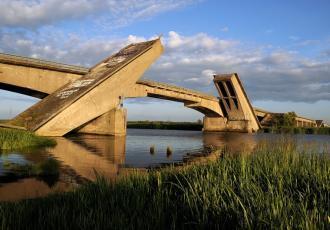 Реконструкция автодорожного моста через реку Преголю