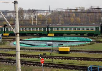 Реконструкция моторвагонного депо на станции Ленинград-Пассажирский-Московский