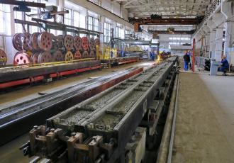 Чудовский завод железобетонных шпал
