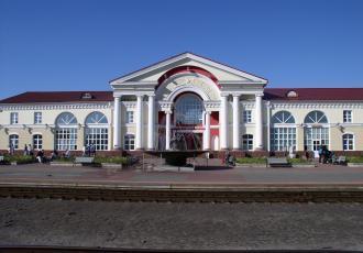 Развитие станции Полоцк