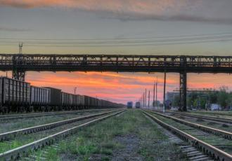 Железнодорожный мост на линии Есиль — Аркалык