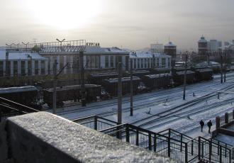 Железнодорожный участок Курган — Сулы — Пески
