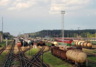 Устройства СЦБ и связи на станции Даугавпилс