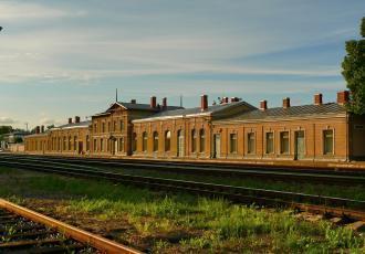 Электрическая централизация на станции Радвилишкис