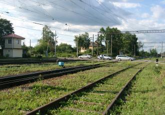 Вторые пути на участке Сиверская — Луга