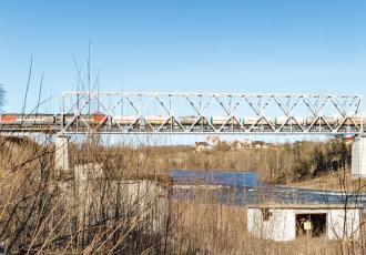Реконструкция моста через реку Нарву