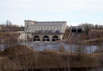 Реконструкция моста черз отводящий канал на автодороге к Эстонской ГРЭС