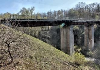 Восстановление моста через реку Писса