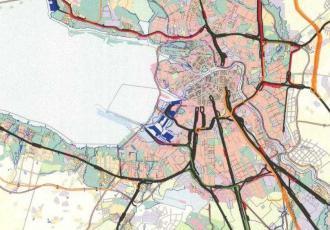 Генеральная схема развития железнодорожного узла Санкт-Петербурга и Ленинградской области