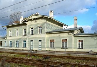 Тяговая подстанция на станции Кейла