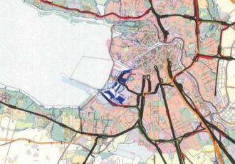 Генеральная схема развития Ленинградского железнодорожного узла на 1950–1965 годы