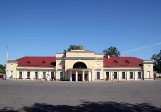 Gatchina-Varshavskaya station