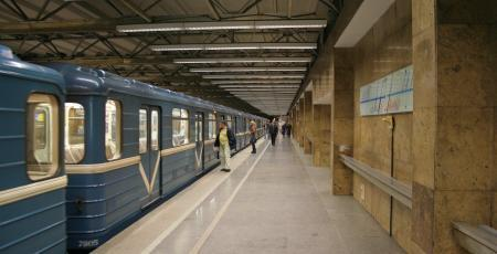 Пешеходный тоннель у станции метро «Купчино»