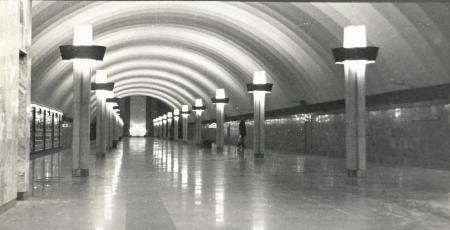 Вестибюль станции метрополитена «Ладожская»