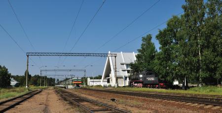 Электрификация участка Мельничный ручей — Ладожское Озеро