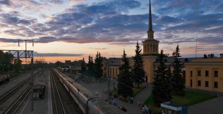 Железнодорожная линия Петрозаводск — Суоярви