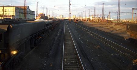 Электровозное депо в Норильске