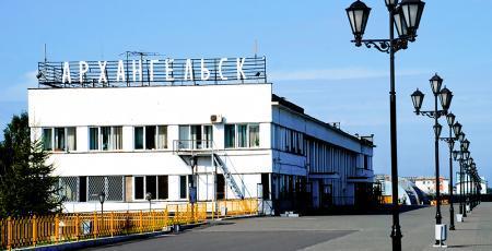 Ремонтно-экипировочное депо на станции Архангельск