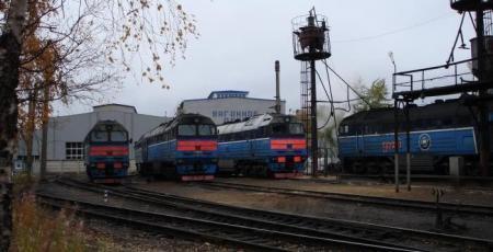 Вагоноремонтное депо на станции Кандалакша