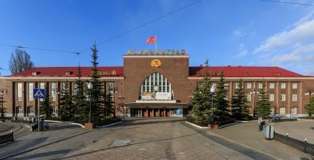 Льдозавод на станции Калининград
