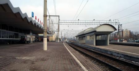 Вокзал на станции Астрахань с развитием станции