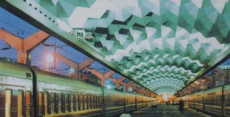 Перекрытие пассажирских платформ на Московском вокзале