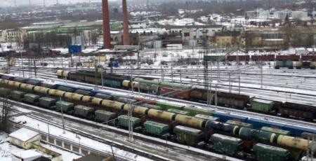 Реконструкция станции Волховстрой I Октябрьской ж. д. Парк приема