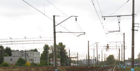 Моторвагонное депо на станции Ленинград-Товарный-Витебский