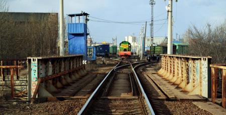 Развитие грузового хозяйства станции Ленинград-Товарный-Витебский