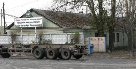 Развитие грузового хозяйства станции Ленинград-Товарный-Финляндский