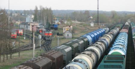 Вагоноколесные мастерские на станции Новосокольники