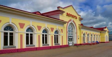 Вокзал в Воркуте