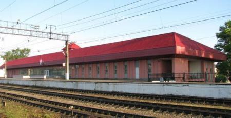 Вокзал на станции Лодейное поле