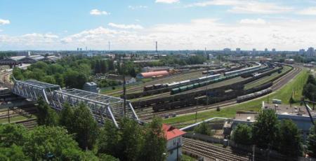 Служебно-техническое здание Калининградского отделения Прибалтийской железной дороги