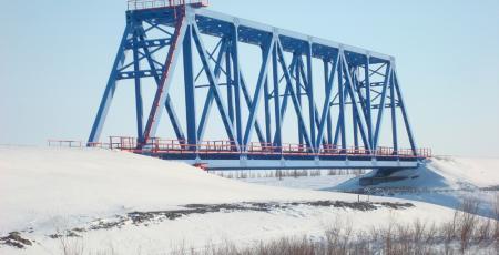 Мостовой переход через реку Хэ-Яха