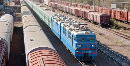 Железнодорожный узел Акмолинск