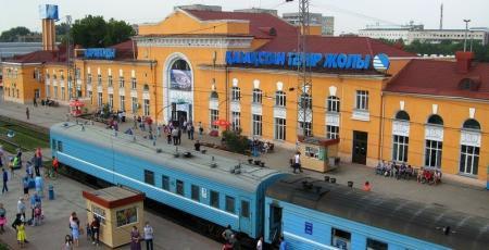 Железнодорожная станция Караганда