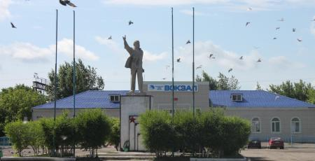 Устройства СЦБ и связи на станции Есиль