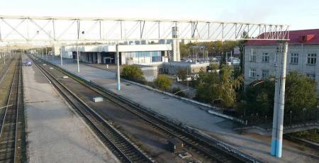 Вагоноремонтное депо на станции Павлодар