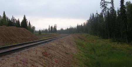 Подъездная железная дорога к Средне-Тиманскому бокситовому руднику
