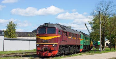 Депо на станции Елгава