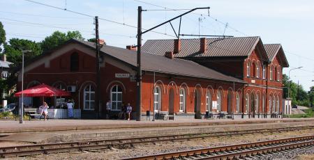 Депо на станции Тукумс
