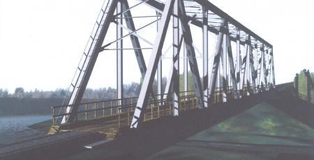 Мостовой переход через реку Вымь