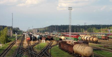 Развитие и переустройство сортировочной станции Даугавпилс II