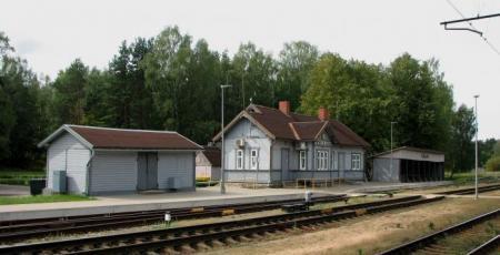 Развитие станции Зиемельблазма