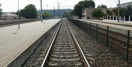 Укрепление каунасского косогора на Литовской железной дороге