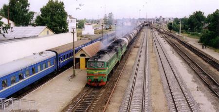 Развитие станции Радвилишкис